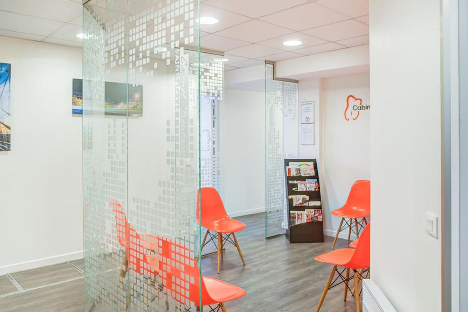 Salle d attente du cabinet dentaire