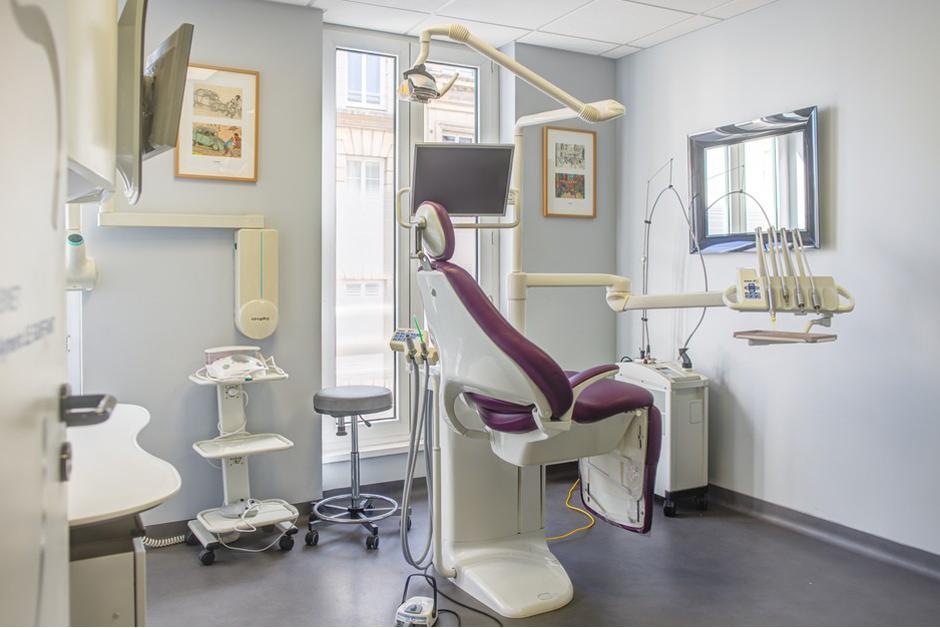 Salle de soins dentaire